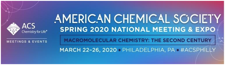 ACS 2020 Spring meeting banner